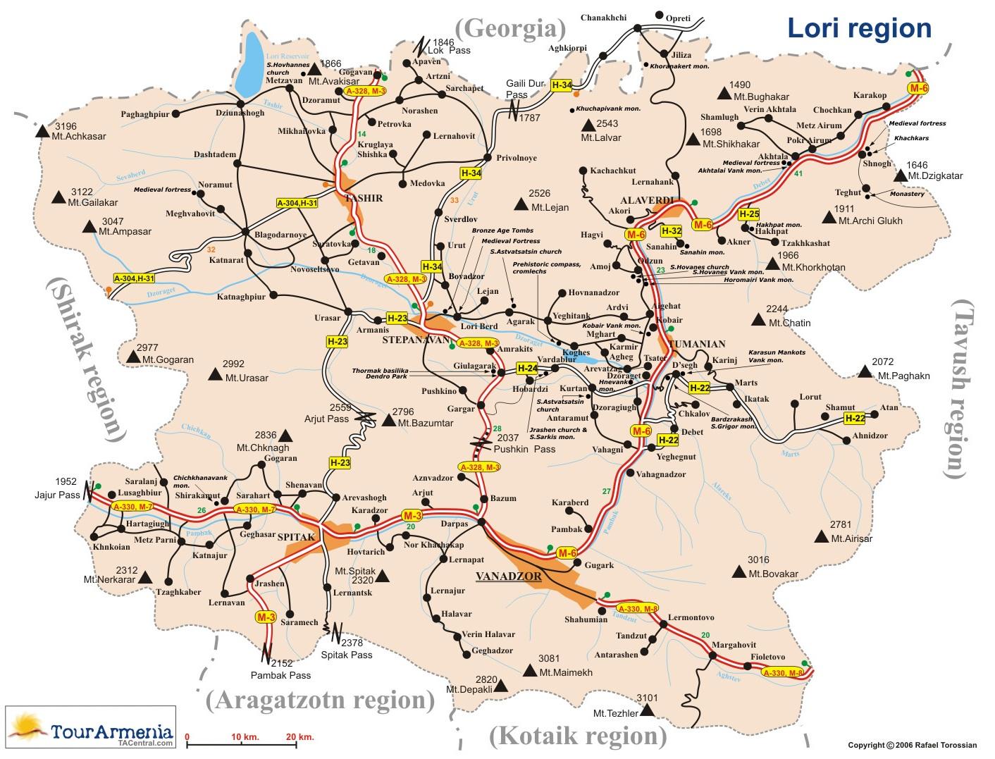 MAPS Armenia Travel History Archeology Ecology TourArmenia